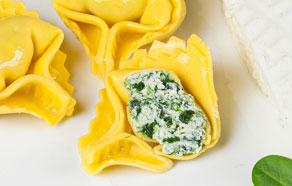 Tortelloni ricotta e spinaci