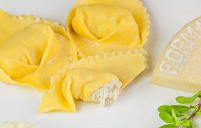 Tortelli alla formaggella di tremosine
