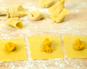 High-quality fresh pasta made with selected raw materials