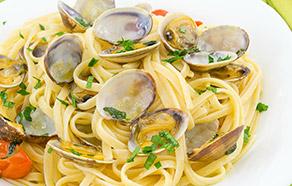 Tagliolini with Fresh Clams